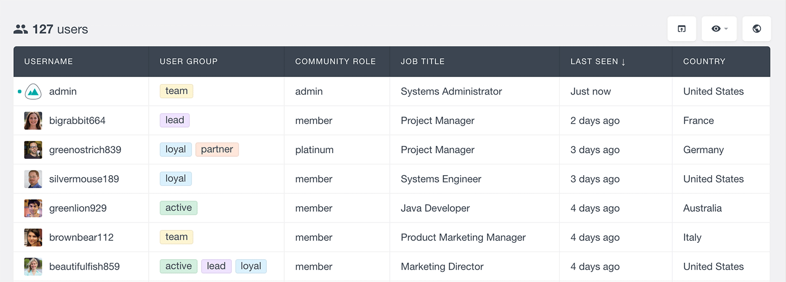 combine ultimate member with users insights fields