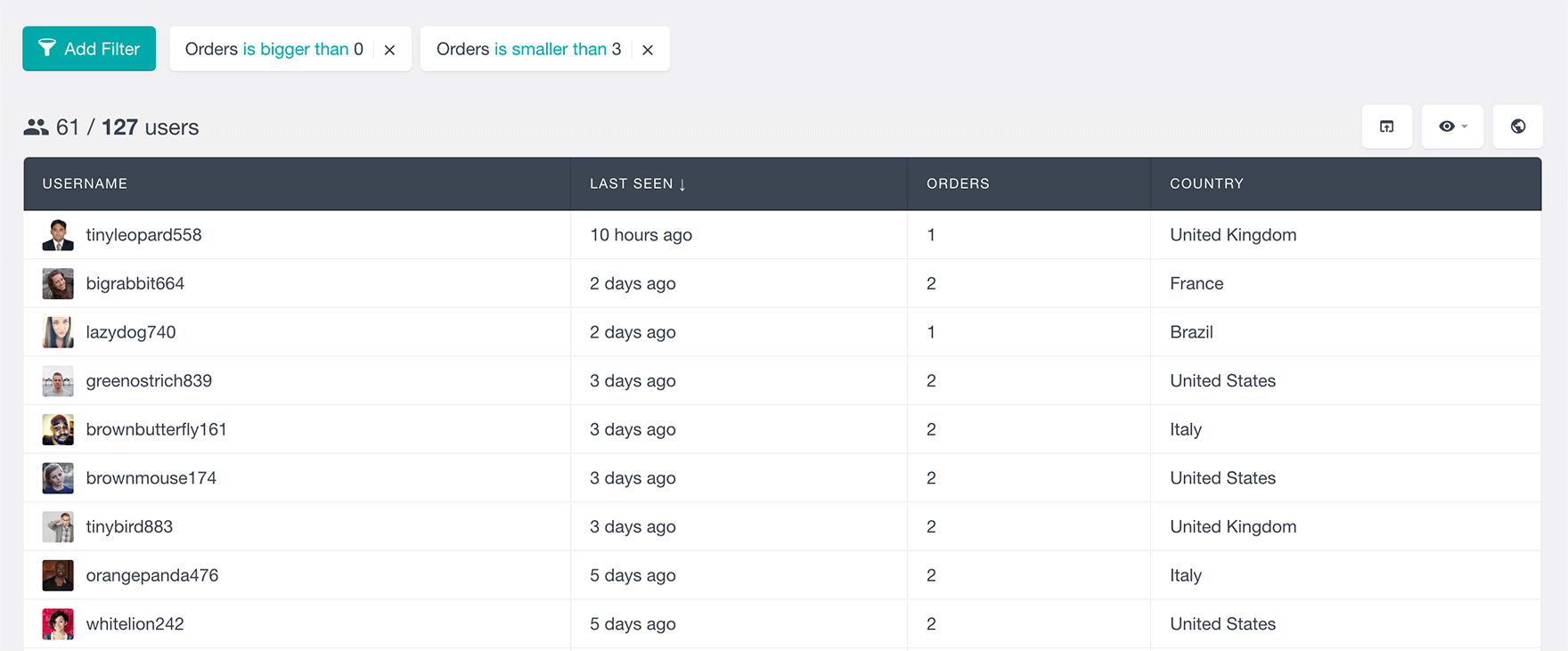 woocommerce customer order is smaller