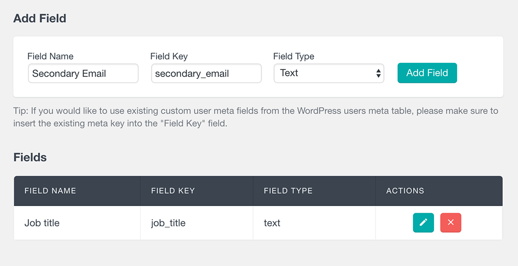 woocommerce customer custom fields fileds