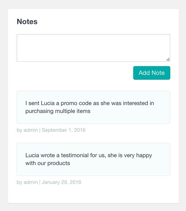 woocommerce customer notes