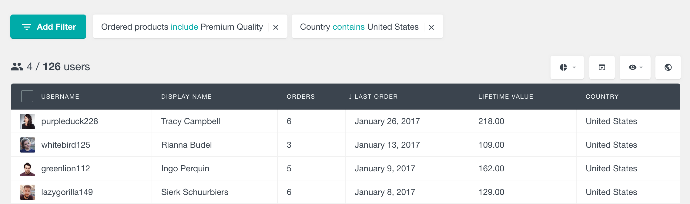 woocommerce customer order
