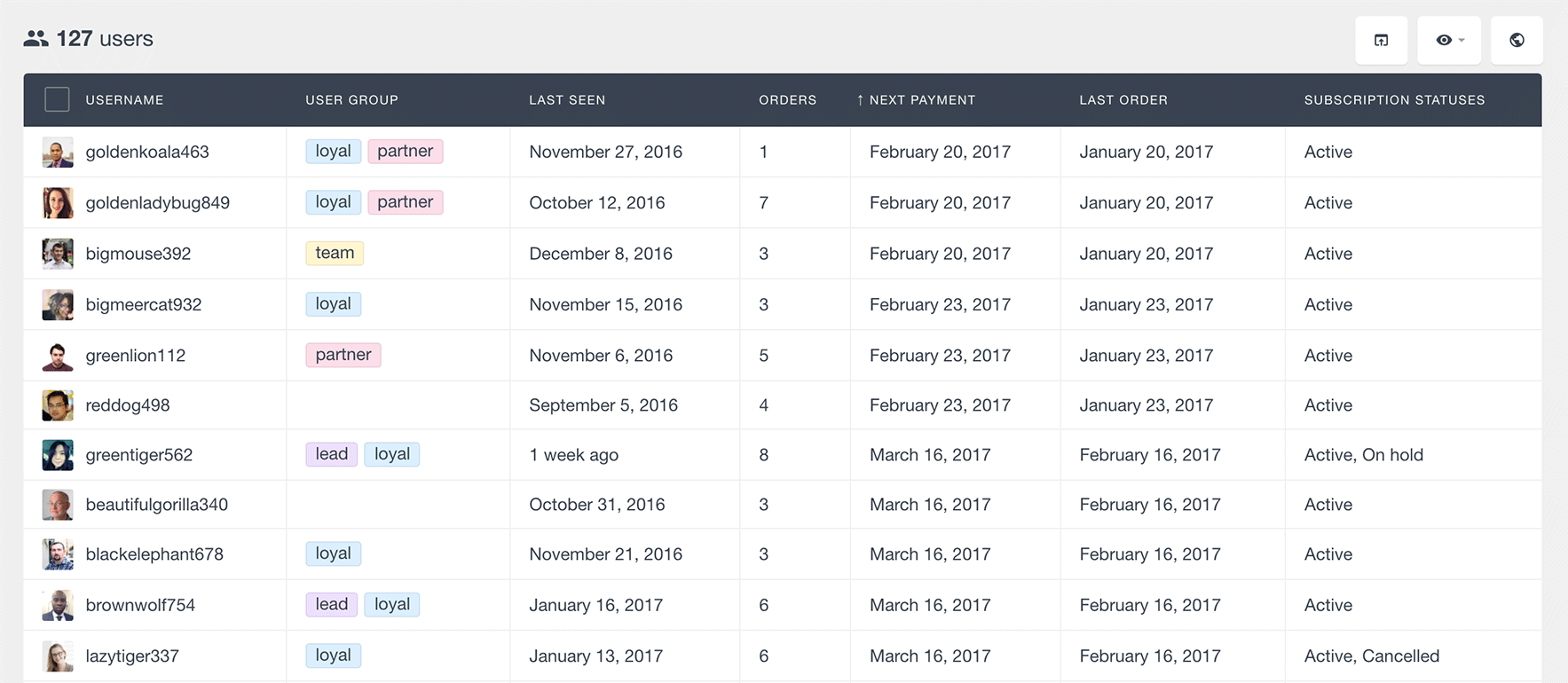 woocommerce subscriptions next payment
