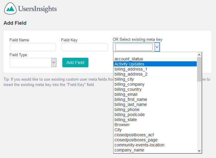 Mapping custom fields with Extended CRM