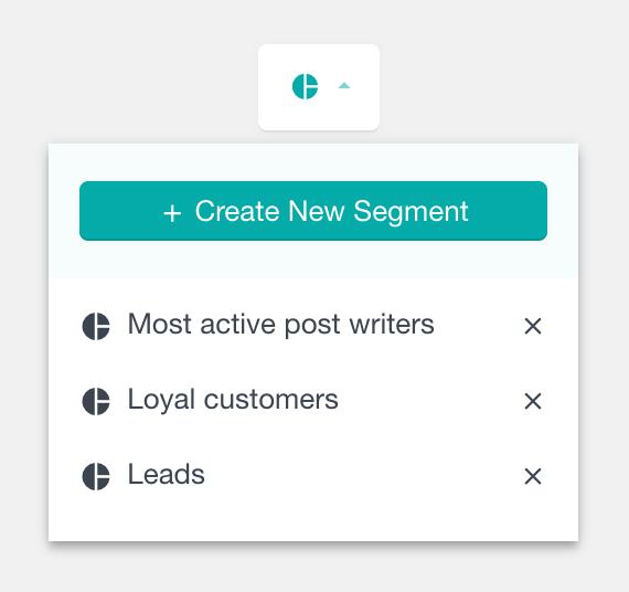 Apply user segment