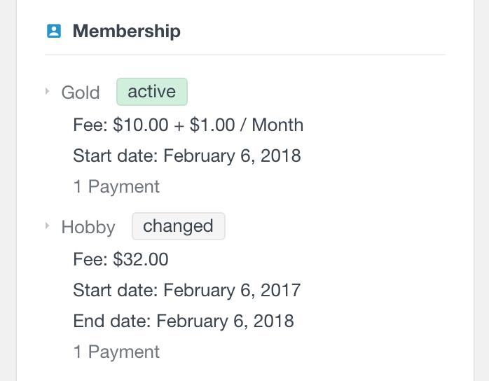 PMPro user memberships history