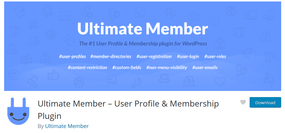 Ultimate Member membership plugin