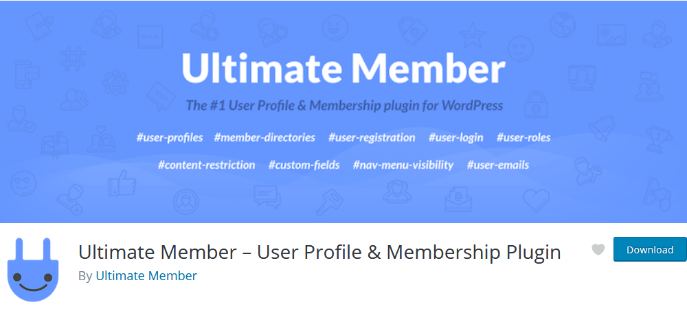 The Ultimate Member plugin for WordPress protected pages and memberships