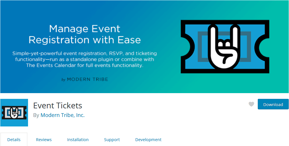 Sell tickets for your events with the Event Tickets plugin