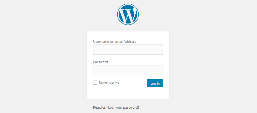 Default WordPress login redirects to the previous page you were trying to visit