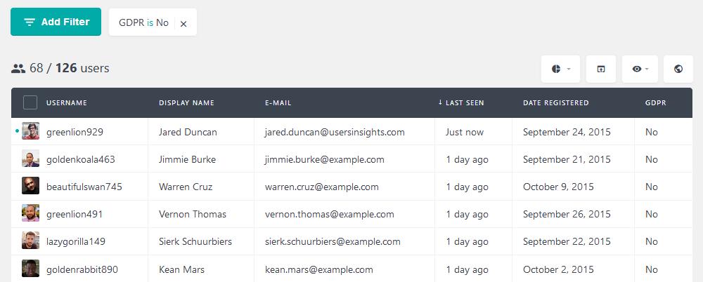 Delete WordPress account with no GDPR acceptance