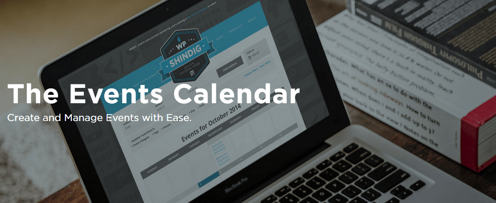 The Events Calendar plugin to store events