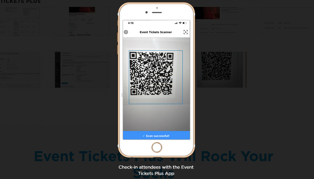 Event boarding using QR codes