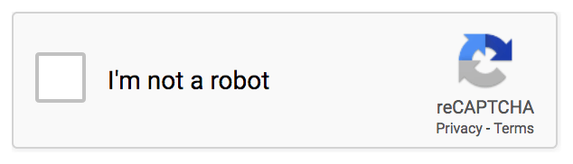 Google Recaptcha I am not a robot