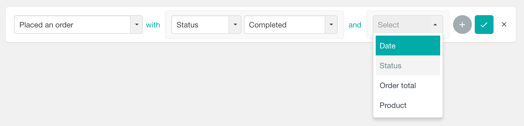 Using the WooCommerce placed an order filter