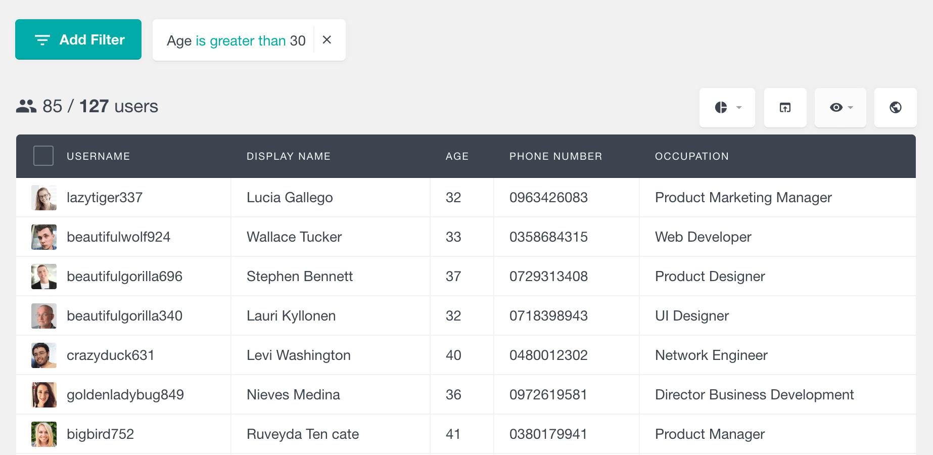 WordPress filter users by numeric custom field