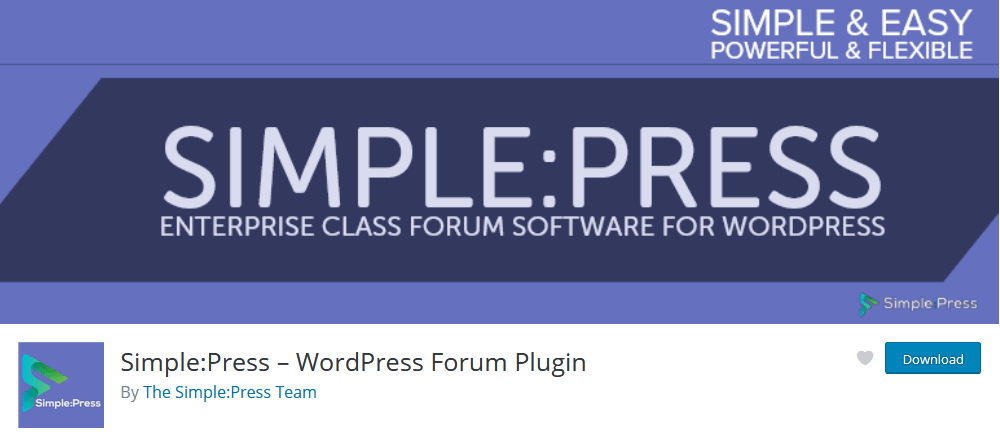 Simple:Press WordPress plugin for Forums
