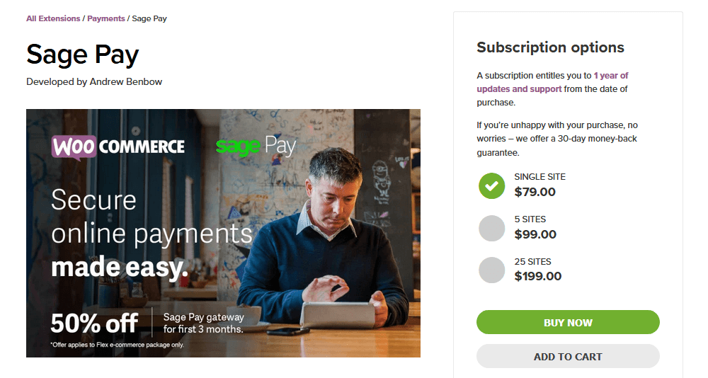 Sage Pay and WooCommerce
