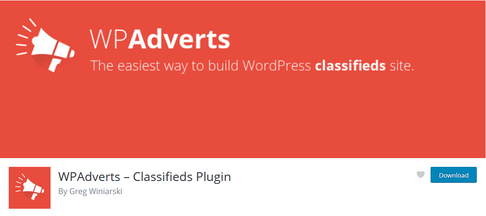 WP Adverts free WordPress classifieds plugin
