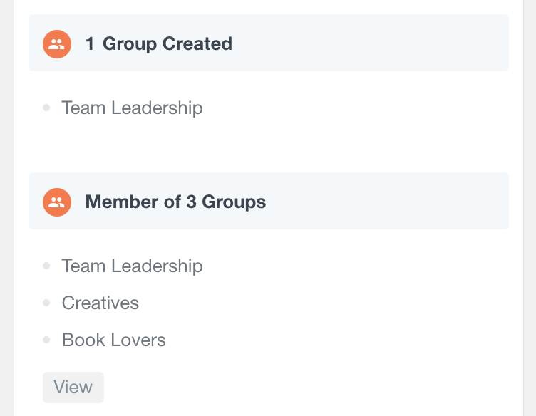 BuddyPress group activity in user profile